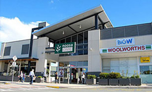 Noosa Civic shopping centre after commercial electrical repairs